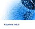 douche biobeheer water